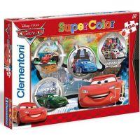 Clementoni Cars Supercolor Auta Puzzle 104d