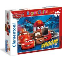 Clementoni Cars Supercolor Puzzle Maxi 104 dílků