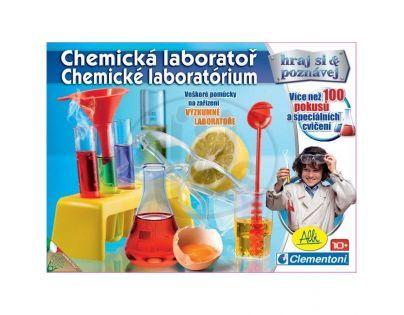 Clementoni 99782 - Chemická laboratoř