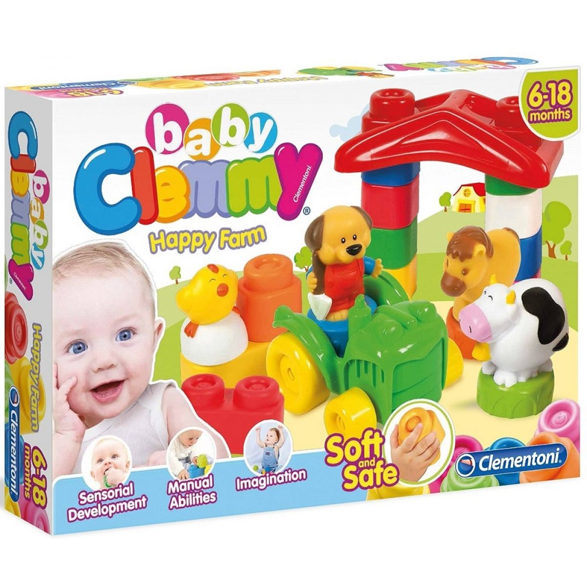 Clementoni Clemmy Baby Veselá farma