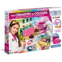 Clementoni Dětská laboratoř Sada barevná chemie