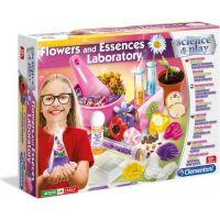 Clementoni Dětská laboratoř výroba esencí z květin