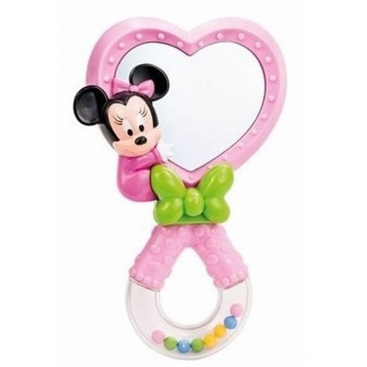 Clementoni Disney Chrastítko se zrcátkem Minnie