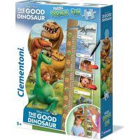 Clementoni Disney Double Fun Puzzle Good Dinosaur Maxi 30 dílků