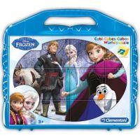 Clementoni Disney Frozen Kostky v kufříku Baby 12 kostek