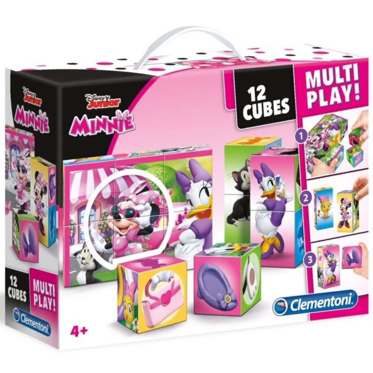 Clementoni Disney Kostky Minnie Multi Play 12 kostek