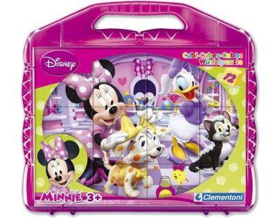 Clementoni Disney Minnie Kostky v kufříku Baby 12 kostek