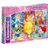 Clementoni Disney Princess Puzzle Brilliant 104 dílků