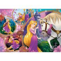 Clementoni Disney Princess Puzzle Supercolor Na Vlásku 250 dílků 2