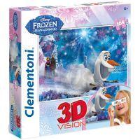 Clementoni Disney Puzzle 3D Vision Frozen 104d