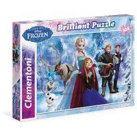 Clementoni Disney Puzzle Brilliant Frozen 104 dílků