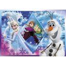 Clementoni Puzzle Supercolor Frozen 60d 2