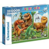 Clementoni Disney Puzzle Supercolor Hodný dinosaurus 104 dílků