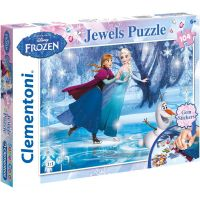 Clementoni Disney Puzzle Supercolor Jewels Frozen 104 dílků