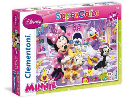 Clementoni Disney Puzzle Supercolor Minnie 2x20d