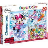 Clementoni Disney Puzzle Supercolor Minnie sport 3x48d
