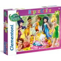 Clementoni Disney Puzzle Supercolor Víly 60 dílků