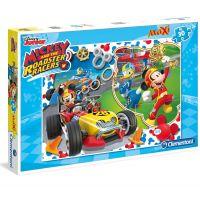 Clementoni Puzzle Maxi 30 dílků Mickey závodník
