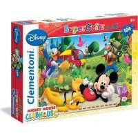 Clementoni Disney Supercolor Mickey Mouse Puzzle Maxi 104 dílků