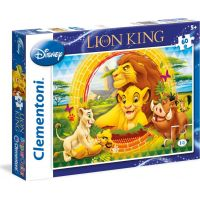 Clementoni Disney Supercolor Puzzle Lví král 60 dílků