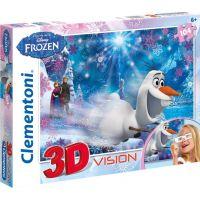 Clementoni Doba Ledová 3D Puzzle 104 dílků