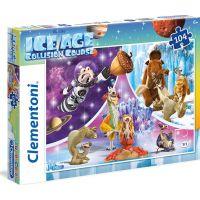 Clementoni Doba Ledová Puzzle Supercolor 104 dílků