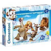 Clementoni Doba Ledová Puzzle Supercolor 60 dílků