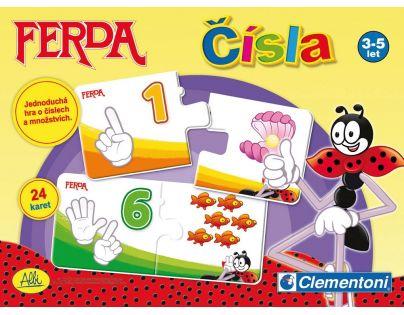 Clementoni 99773 - Ferda Čísla