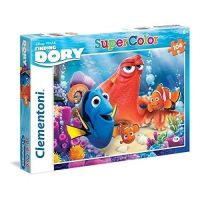 Clementoni Hledá se Dory Supercolor Puzzle 104 dílků