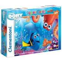 Clementoni Hledá se Dory Supercolor Puzzle Maxi 104 dílků