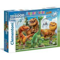 Clementoni Hodný dinosaur Supercolor Puzzle Maxi 24 dílků
