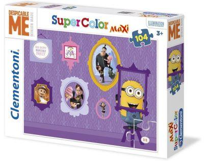 Clementoni Já, padouch Puzzle Maxi Supercolor 104 dílků