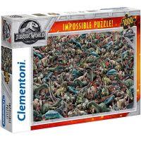 Clementoni Jurský svět Puzzle Impossible 1000 dílků