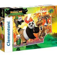 Clementoni Kung Fu Panda 3 Supercolor Puzzle Maxi 40 dílků
