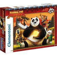 Clementoni Kung Fu Panda Supercolor Puzzle Maxi 24 dílků