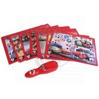 Clementoni 60391 - Kvízové kartičky a elektronické pero - Cars 2
