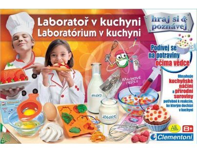 Clementoni Laboratoř v kuchyni