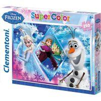 Clementoni Ledové království Puzzle Supercolor 250 dílků