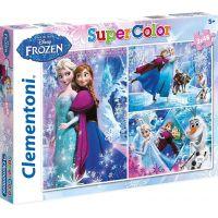 Clementoni Ledové království Puzzle Supercolor 3 x 48 dílků