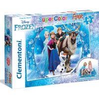 Clementoni Ledové království Puzzle Supercolor Floor 60 dílků