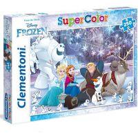 Clementoni Ledové království Puzzle Supercolor Frozen 250 dílků