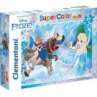Clementoni Ledové království Puzzle Supercolor Maxi 24 dílků
