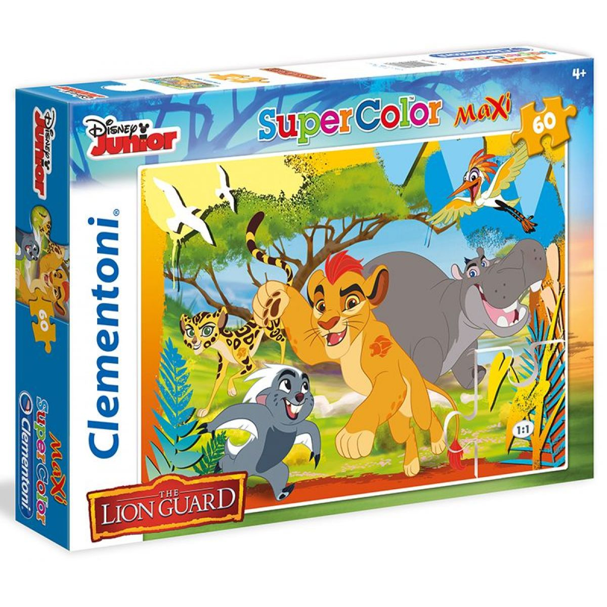 Clementoni Lion Guard Supercolor Puzzle Maxi 60 dílků