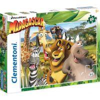 Clementoni Madagaskar Supercolor Puzzle 60 dílků
