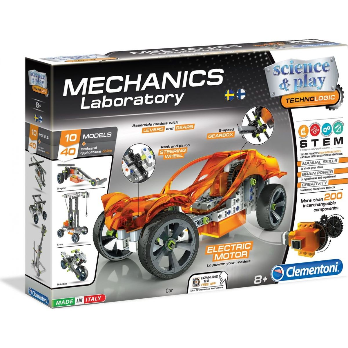 Clementoni Mechanická laboratoř