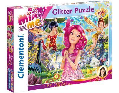 Clementoni Mia and Me Puzzle Supercolor Glitter 104d