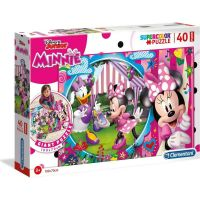 Clementoni Minnie Puzzle Supercolor Floor 40 dílků