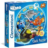Clementoni Nemo Clock Puzzle 96 dílků