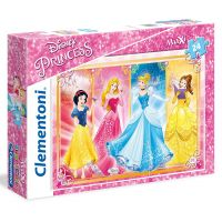 Clementoni Princess Supercolor Maxi Puzzle 24 dílků