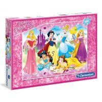 Clementoni Princess Supercolor Puzzle Maxi 104 dílků